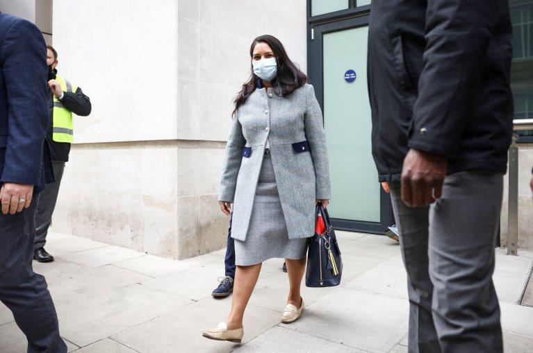Priti Patel, British Home Secretary on May 23 2021 | Photo : Reuters