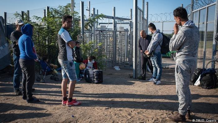 یکی از اردوگاه های پناهجویان در مجارستان