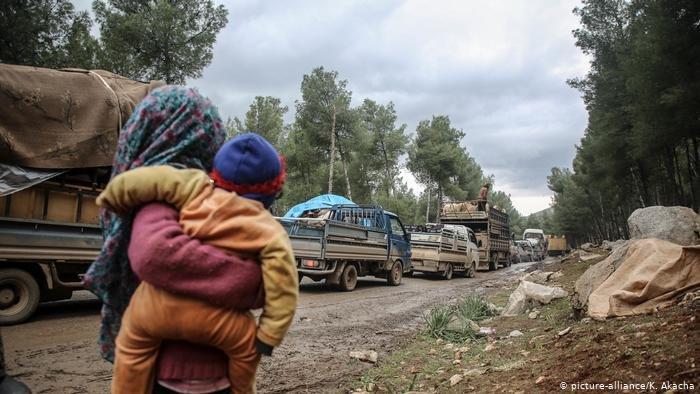 picture-alliance/K. Akacha  ألمانيا تطالب بإقامة منطقة محمية بشمالي سوريا وتوفير ضمانات لوصول المساعدات للمحتاجين لها