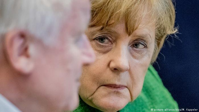 Chancellor Angela Merkel is under pressure to EU-wide solutions to the migration crisis