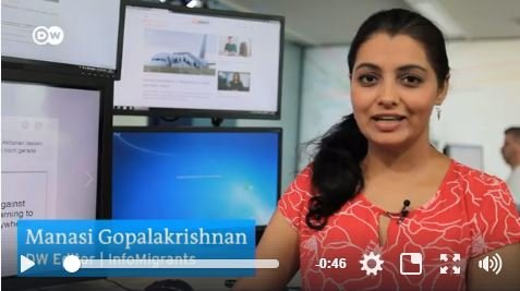 Manasi Gopalakrishnan, Editor for InfoMigrants