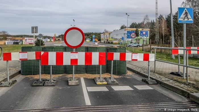 آلمان شماری از مرزهایش را با کشورهای همسایه مسدود نمود.