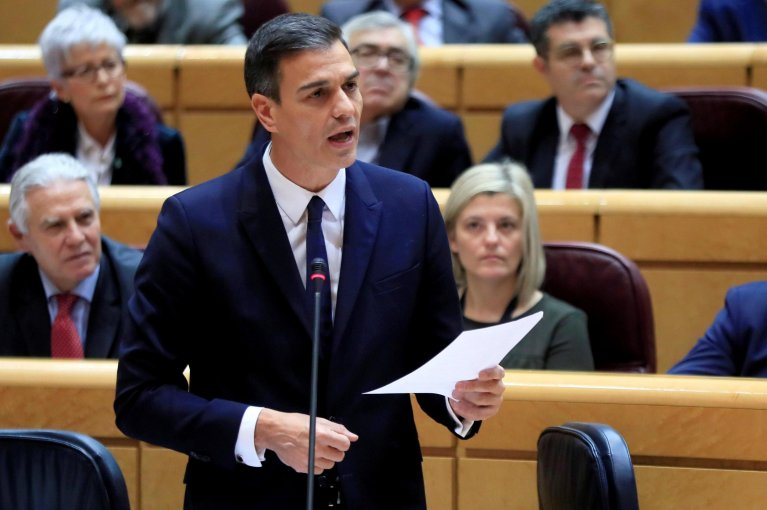 Spanish Prime Minister Pedro Sanchez | Credit: ANSA