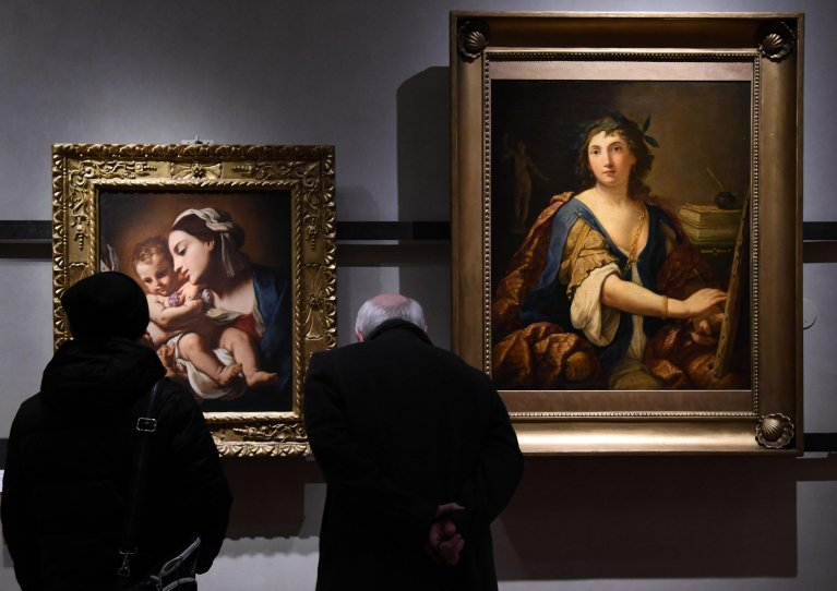 A show at the Uffizi gallery in Florence. | Photo: ANSA/Claudio Giovannini
