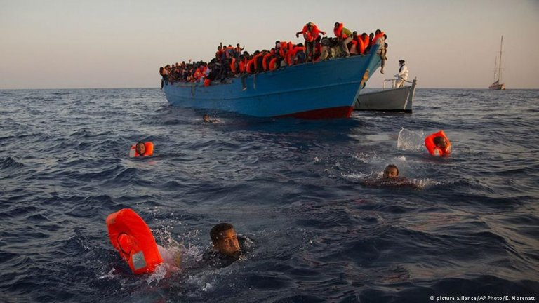 Around 80 percent of migrant deaths are reportedly due to drowning during attempted sea crossings