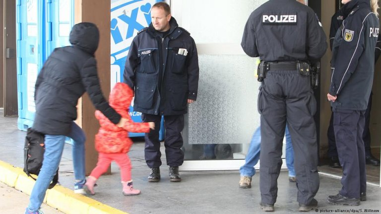 Rejected asylum seekers in Leipzig, Germany