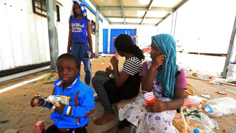 أ ف ب/ أرشيف |مهاجرون أفارقة في ليبيا