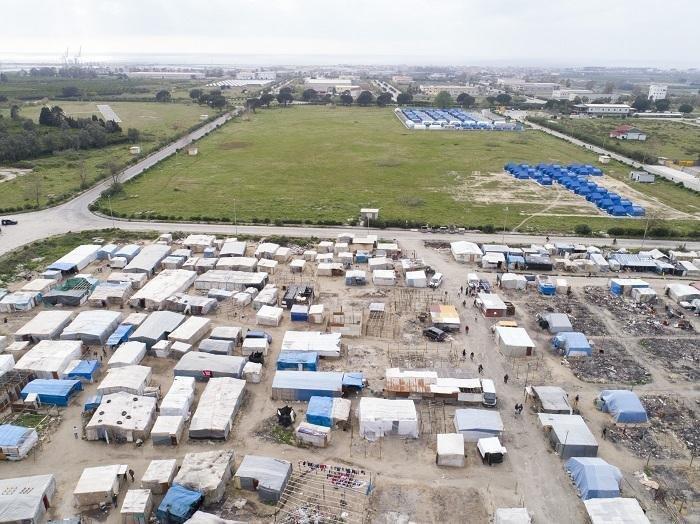 """ansa / مخيم سان فرناندينو. المصدر: روكو رورناديلي/ منظمة """"أطباء من أجل حقوق الإنسان""""."""