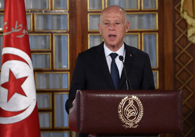 AFP |الرئيس التونسي قيس سعيّد