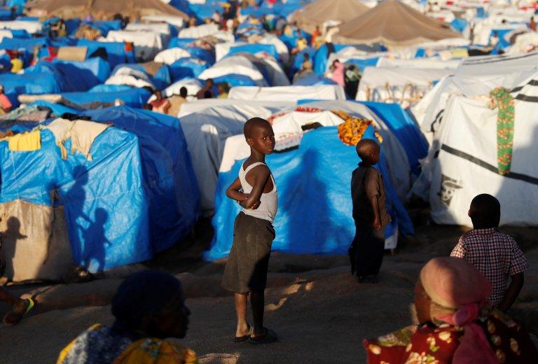 REUTERS/Goran Tomasevic |Déplacés de l'Ituri, Bunia, camp de tentes. (Image d'illustration)