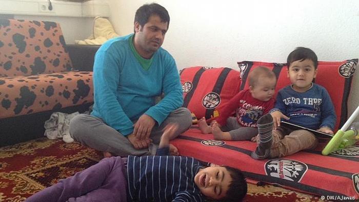 Afghan refugees in Bonn / A.Jawad