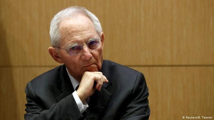 رئيس البرلمان الألماني فولفغانغ شويبله