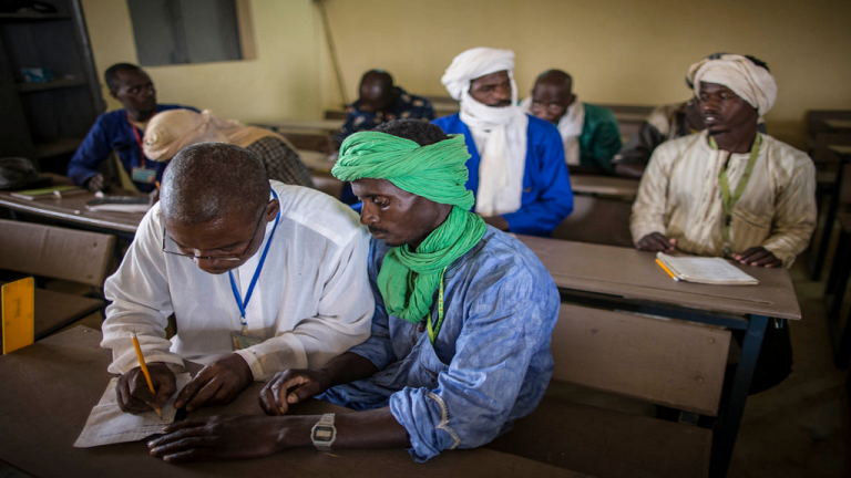 محو الأمية وتنمية المهارات في ظل الصراعات والأزمات