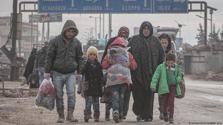 ألمانيا تعلن عن تقديم مساعدة إضافية للنازحين في إدلب