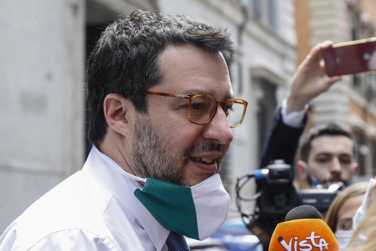 Matteo Salvini after a Senate immunity panel rejected the request to send him to trial in Rome on May 26, 2020 | Photo: ANSA/Fabio Frustaci