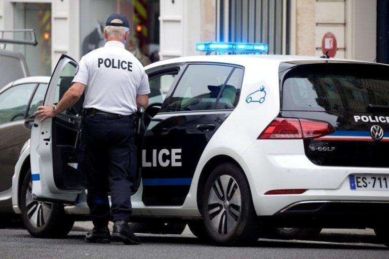 پلیس فرانسه، عکس از رویترز