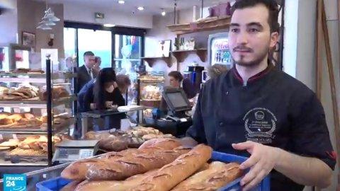 خبز فرنسي بلمسة تونسية-