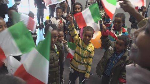 Les couloirs humanitaire entre l'Italie et l'Érythrée ont bénéficié à plusieurs centaines de personnes.