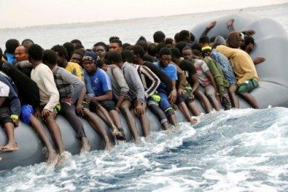 أ ف ب / أرشيف | مهاجرون أفارقة قبالة سواحل اليمن