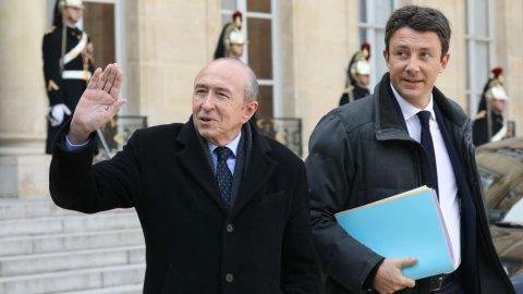 وزير الداخلية الفرنسي جيرار كولومب/ أ ف ب