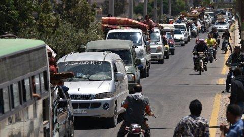 مداخلة رائد جبر حول مراكز مساعدة اللاجئين