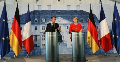 ميركل وماكرون يمهدان الطريق لحزمة إصلاحات حول الهجرة ومنطقة اليورو