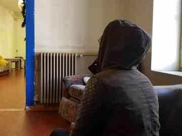 Aïcha, an Ivorian asylum-seeker in Marseille. Photo: InfoMigrants / Dana Alboz