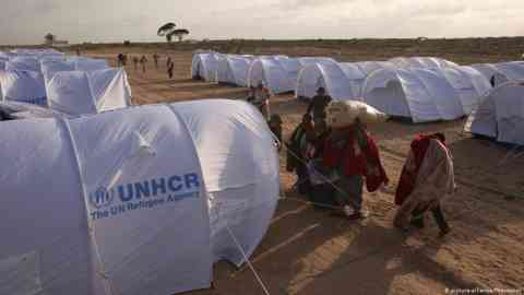 UNHCR tents at a refugee camp in Libya | Photo: Picture-alliance/Photoshot